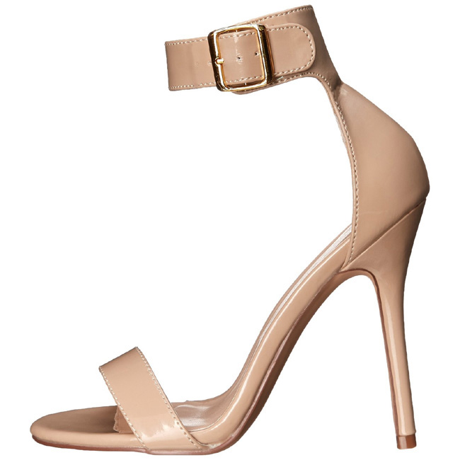 AMUSE-10 beige high heels chaussures de pleaser taille 37 - 38