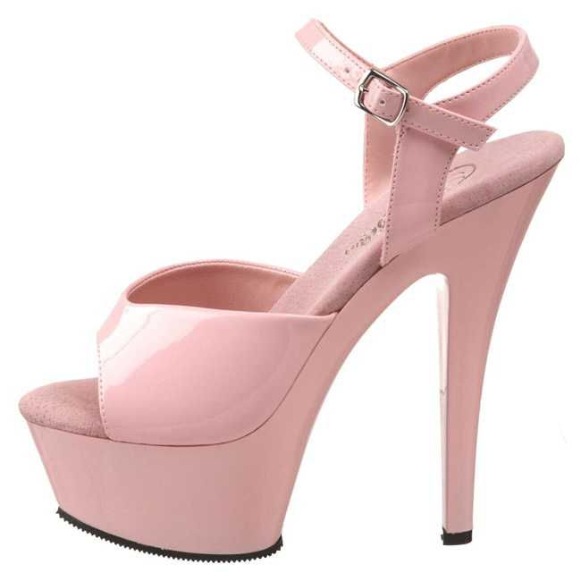 KISS-209 Rose high heels chaussures pleaser france 37 - 38